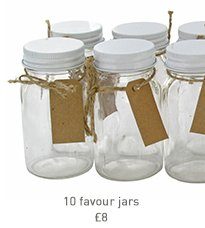 10 favour jars