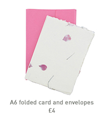 a6 folded cards and envelopes
