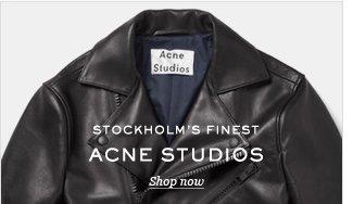 Stockholm's Finest: ACNE STUDIOS. Shop now