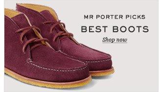 Mr Porter Picks: Best Boots. Shop now