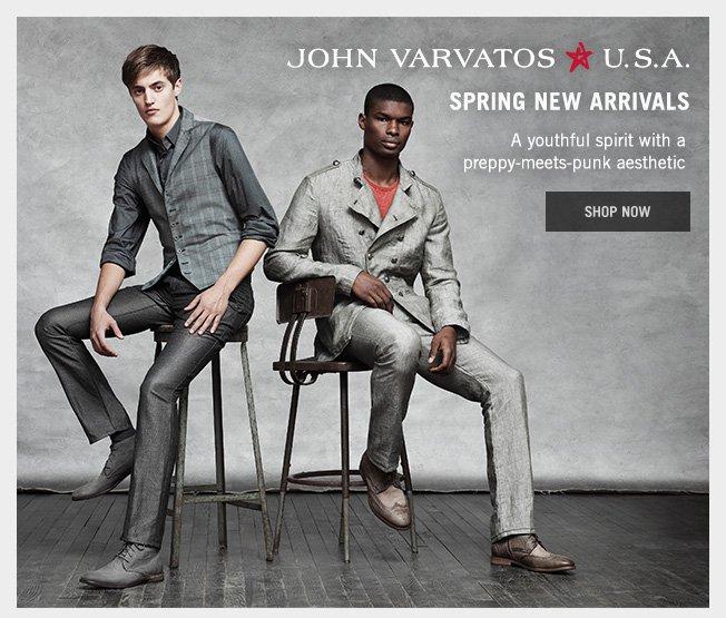 Shop The New Season - John Varvatos U.S.A.