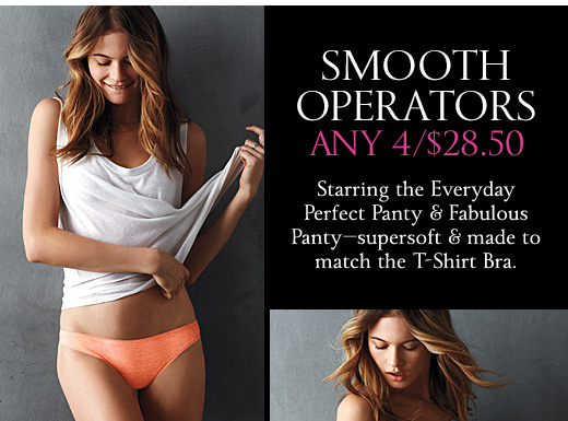 Smooth Operators Any 4/$28.50