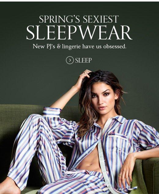 Spring's Sexiest Sleepwear