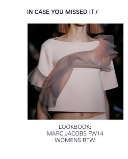 Marc Jacobs | FW14 Lookbook