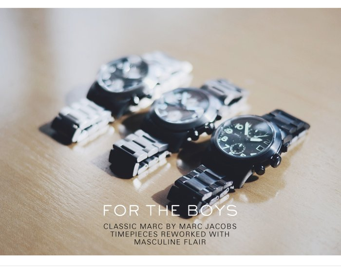 Marc by Marc Jacobs | Mens Watches