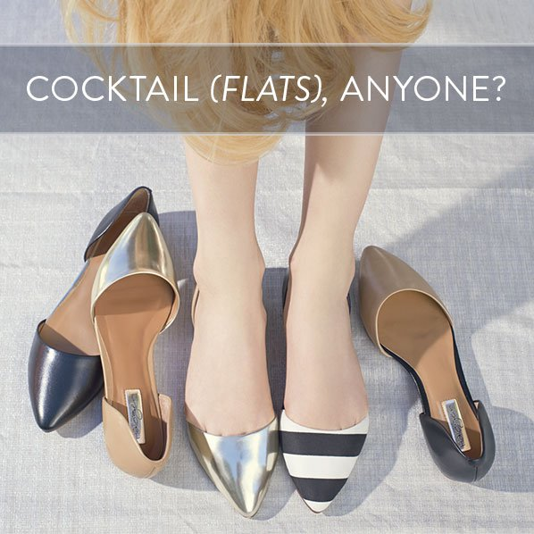 COCKTAIL (FLATS), ANYONE?