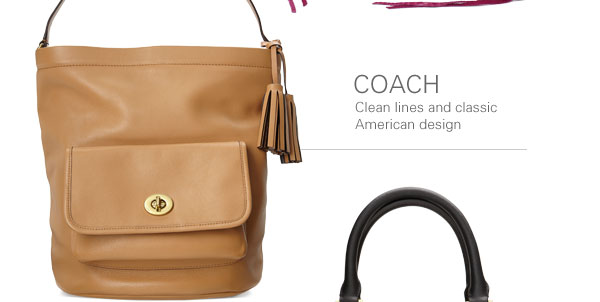 COACH: Clean lines and classic American design