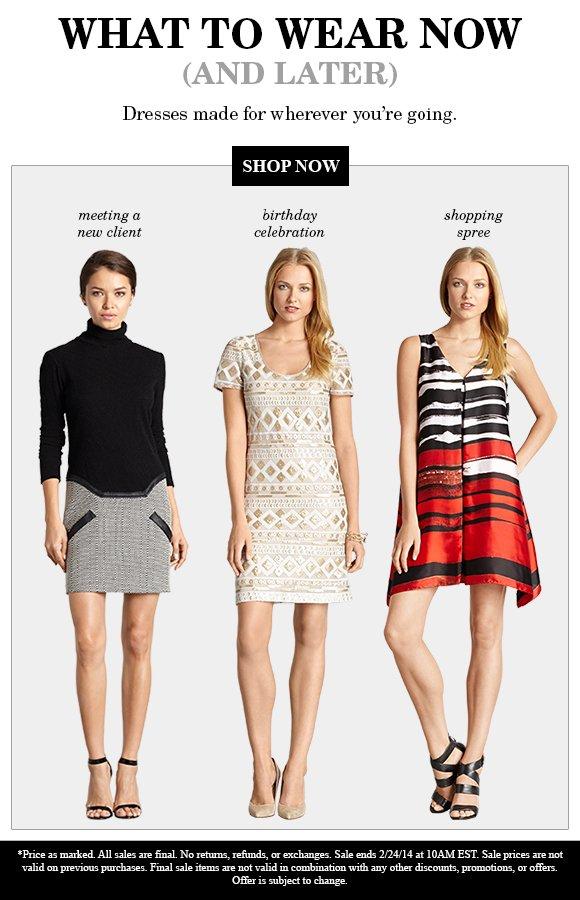 FLASH SALE: $50 DRESSES!