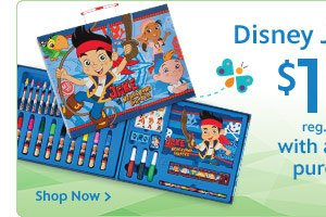 Disney Jr. Art Set. $10 with any $25 purchase. Reg. $14.95  | Shop Now