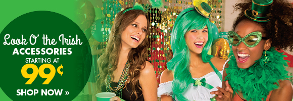 Look O' the Irish Accessories starting at 99¢