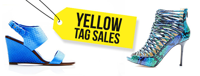 Yellow Tag Sales