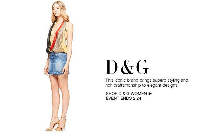 Shop D&G - Ladies.