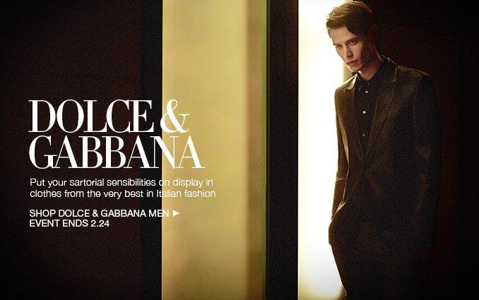 Shop Dolce & Gabanna - Men.
