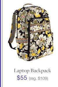 Laptop Backpack $55 (reg. $109)