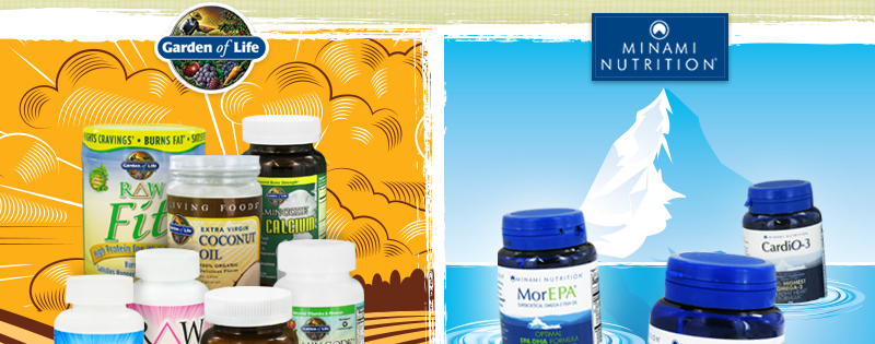 All Garden Of Life & Minami Nutrition Products