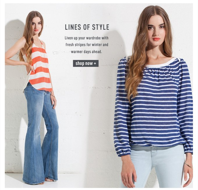 Lines of style | Shop Stripes
