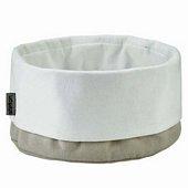 Classic Breadbag, Sand/White