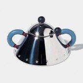 Sugar Bowl with Light Blue Handle