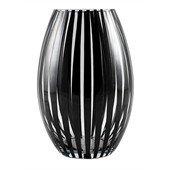 Twist Vase Konvex, Black
