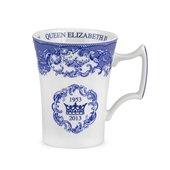 Blue Room Anniversary Of The Coronation Mug 28cl