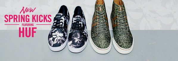Shop HUF: NEW Spring Kicks & More