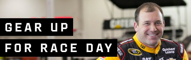 GEAR UP FOR RACE DAY