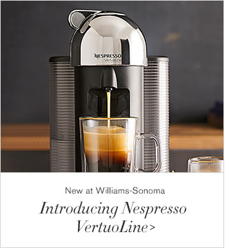 New at Williams-Sonoma - Introducing Nespresso VertuoLine