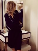 Wildfox Room Service Robe in Black as seen on Beyonce
