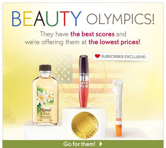 BEAUTY OLYMPICS!