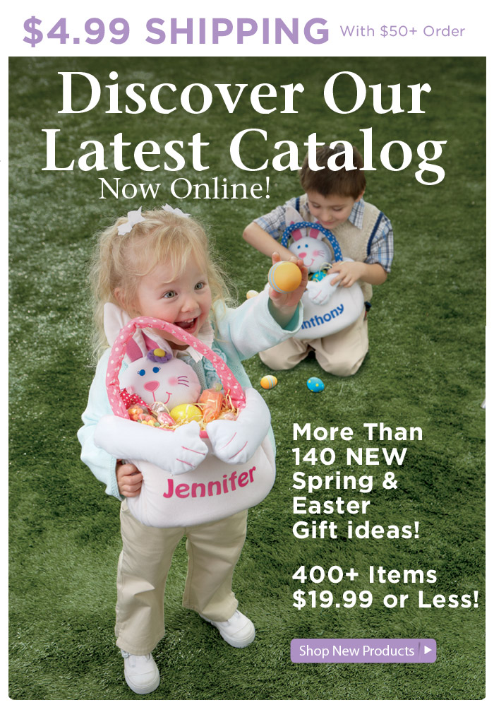 More than 140 NEW Spring & Easter Gift Ideas — Now Online!