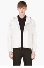 MONCLER GAMME BLEU Ivory Reversible Translucent Jacket for men