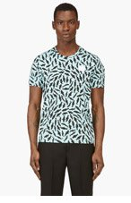 KENZO Aquamarine Shark Print t-shirt for men
