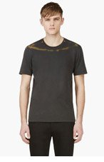 MAISON MARTIN MARGIELA Grey Rust Accent T-Shirt for men