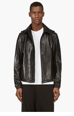 Y-3 Black Removable-Hood Windbreaker for men