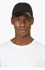 Y-3 Black Reflective LOGO HAT for men