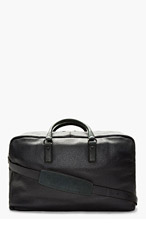 MARC BY MARC JACOBS Grey Leather Duffle Bag for men