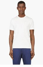 Y-3 Ivory Minimalist LOGO T-shirt for men