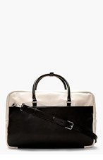 MARC BY MARC JACOBS Black & Blush Leather Duffle Bag for men