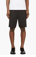 Y-3 Black BOARD SHORTS for men
