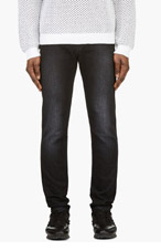 CHRISTOPHER KANE Black Classic Jeans for men