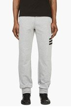 Y-3 Heather Grey Cropped Lounge Pants for men