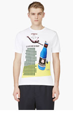 RAF SIMONS White 'So Good And So Many' Graphic T-Shirt for men