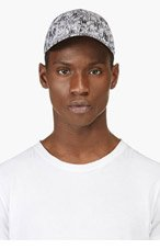 KENZO BLACK & WHITE HIGH WAVE Print CAP for men