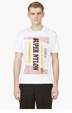 RAF SIMONS White Super Nylon Graphic T-Shirt for men