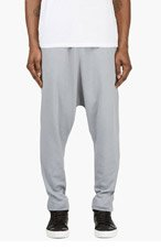 Y-3 GREY Sarouel Lounge PANTS for men