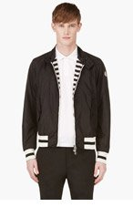 MONCLER Black & White REVERSIBLE SEVERIN WINDBREAKER for men