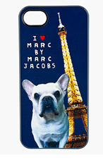 MARC BY MARC JACOBS Navy Jet Set Pets Pickles iPhone 5 Skin for women