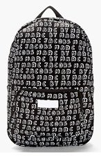 MARC BY MARC JACOBS Black Neoprene Dynamite Logo 13-Inch Computer Backpack for women