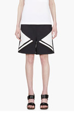 MARNI EDITION Navy Angled Panel Shorts for women