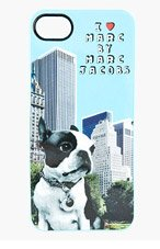 MARC BY MARC JACOBS Blue Jet Set Pets Olive iPhone 5 Skin for women